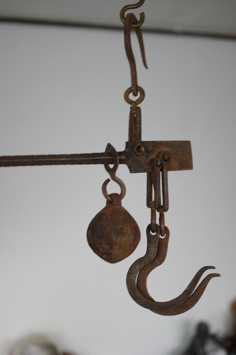フランス アンティーク 吊り秤 4_画像1