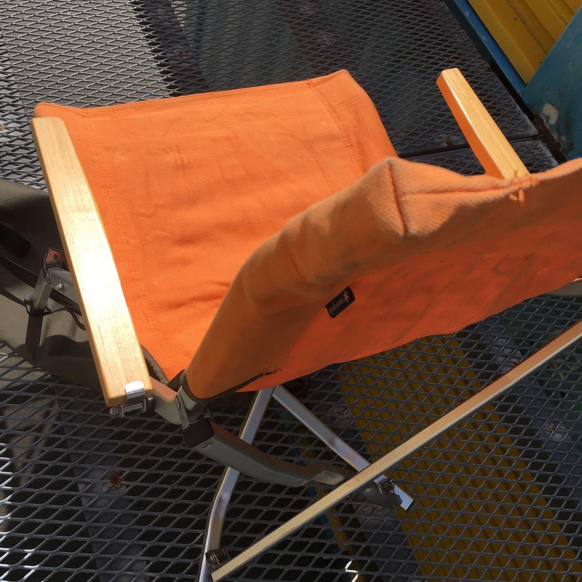 snow peak スノーピーク ローチェア30 ローチェア オレンジ