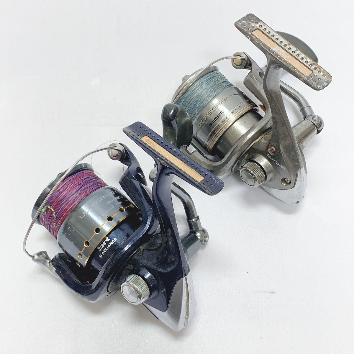 SHIMANO シマノ アルテグラ 4000S/SHIMANO シマノ アルテグラ C3000/リール 2点セット 釣り具 R尼0407