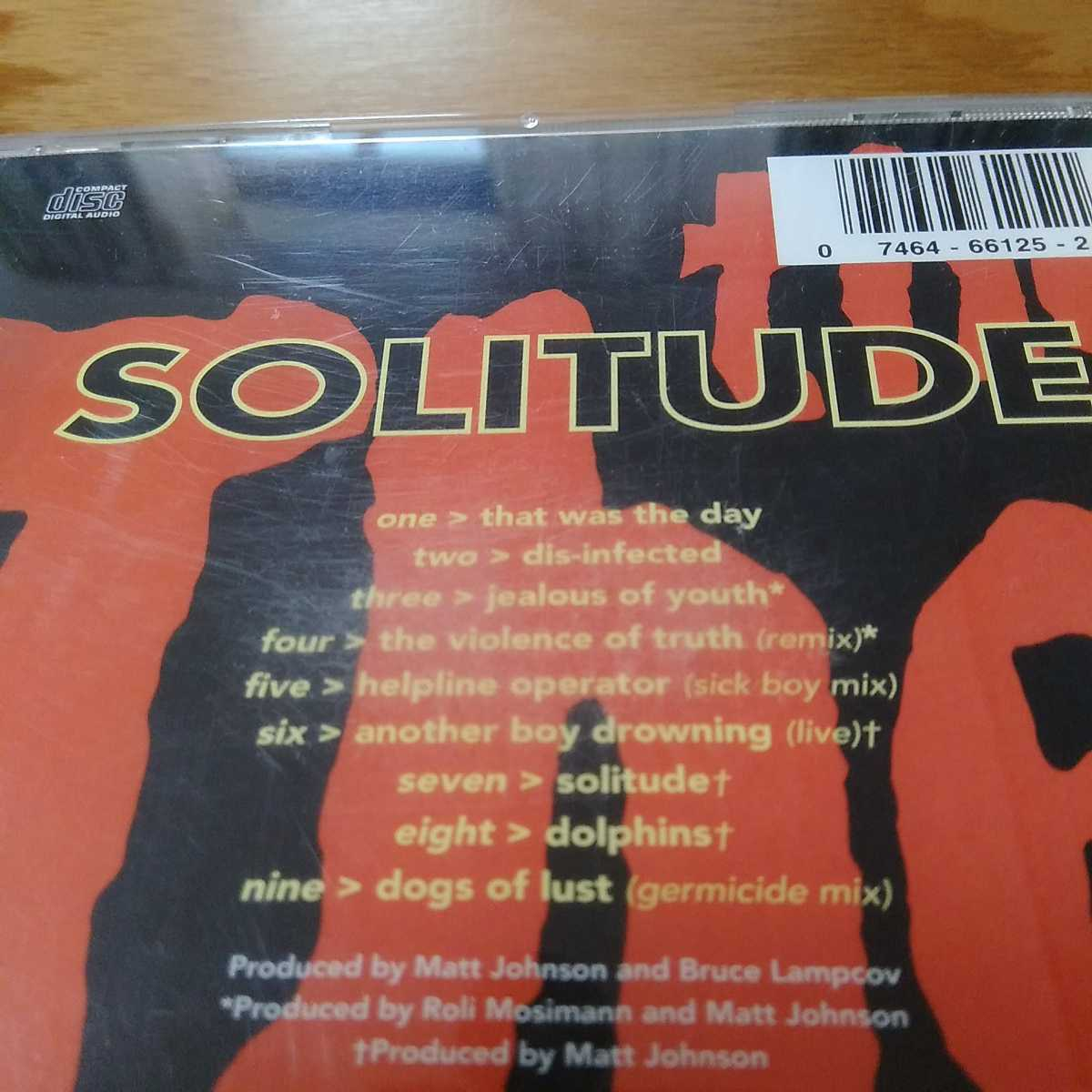 the The ザザ 「SOLITUDE」CD ★UK ロック