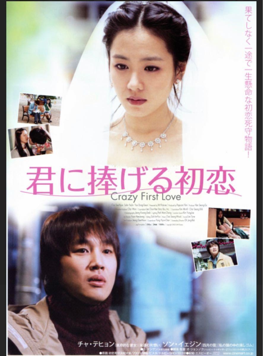 韓国映画 DVD 君に捧げる初恋 ソンイェジン 価格交渉不可