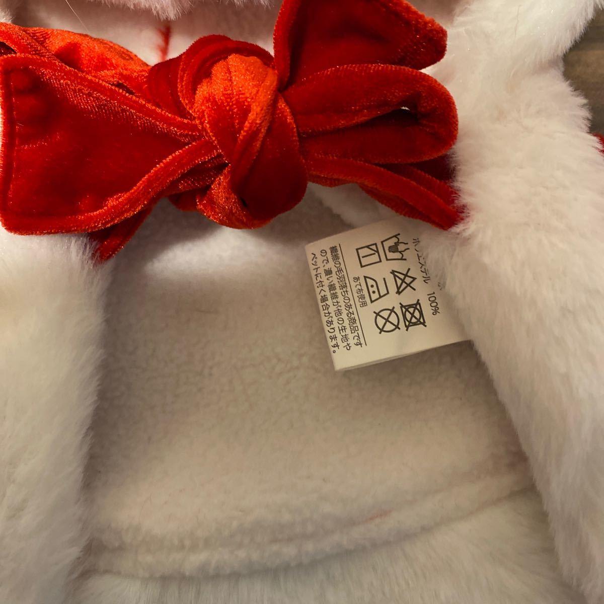 お値下げしました。犬用服コスプレ サンタクロースブーケMサイズ