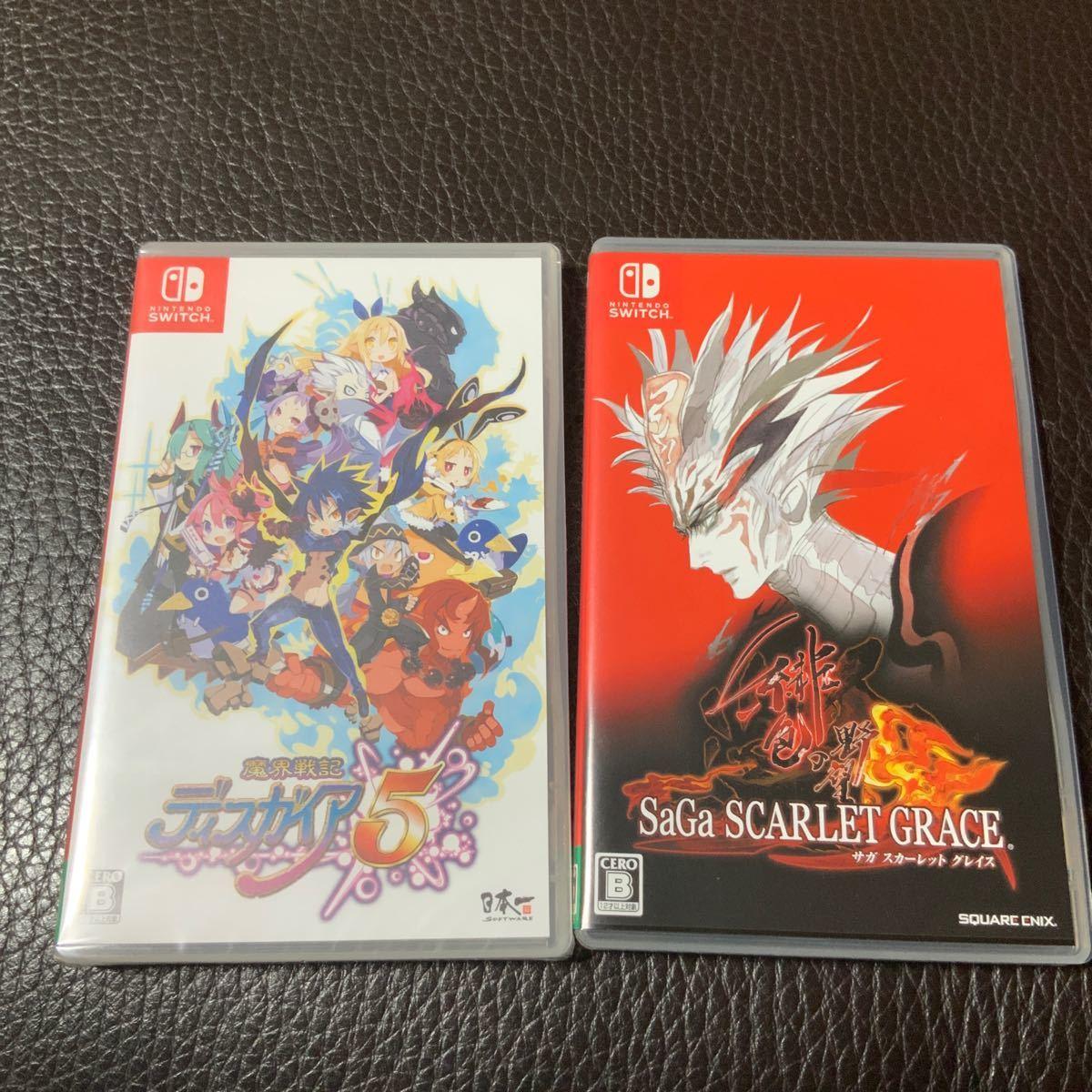 【Switch】 魔界戦記ディスガイア5 サガスカーレットグレイス
