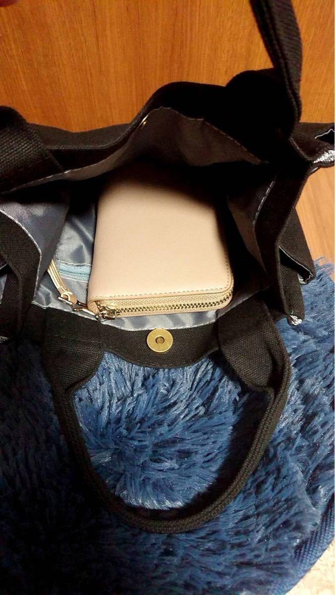 ミニトート コンパクト トートバッグ  キャンバストート 軽量 サイドポケット 大容量 サブバッグ ミニバッグ 手提げ キャンパス