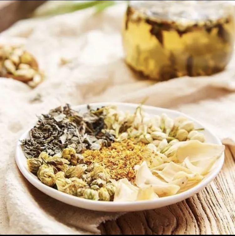 ジャスミン百合茶 安眠茶 健康茶 薬膳茶 漢方茶 美容茶 ハーブティー花茶中国茶
