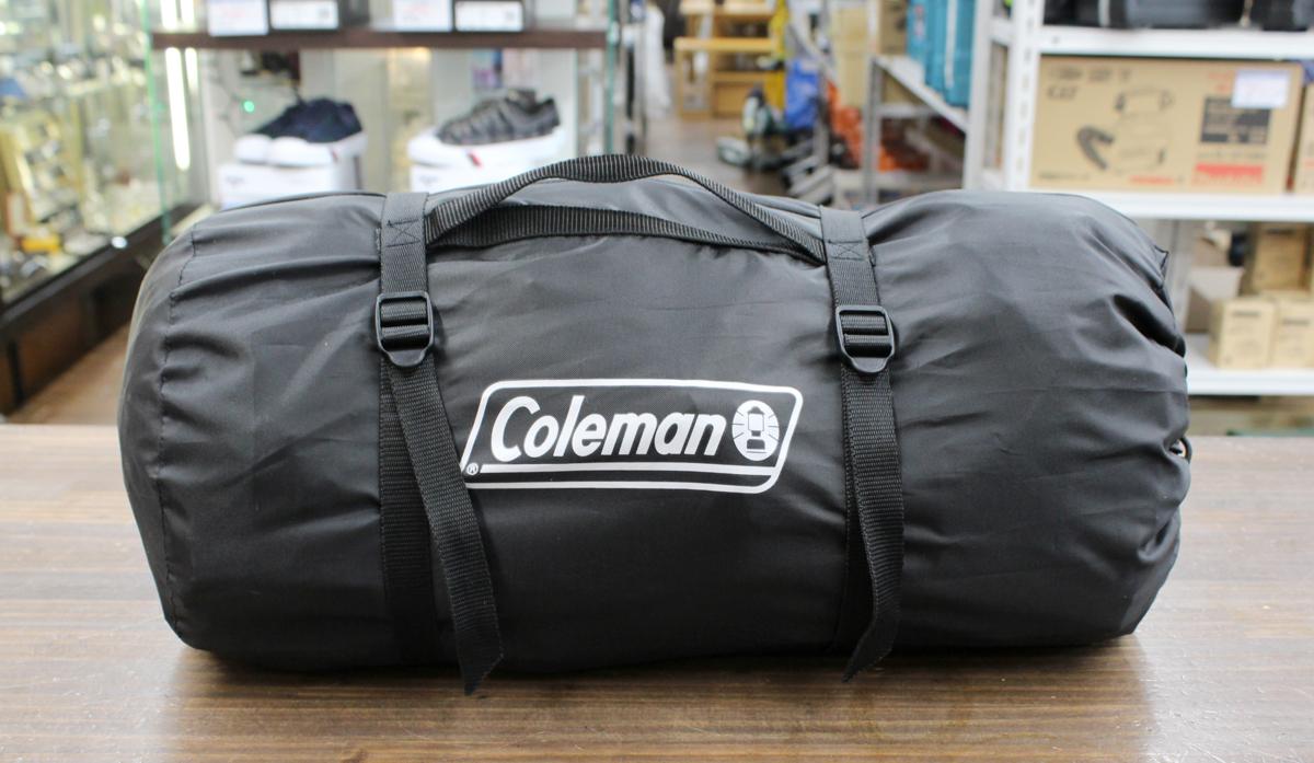 美品 Coleman/コールマン ツーリングドーム ST+ 1~2人用 ブラック グレー テント 2000036435 キャンプ アウトドア_画像6