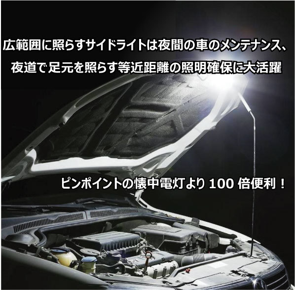 C42 LED ライト ペンライト 懐中電灯 小型 強力 USB 充電式 停電