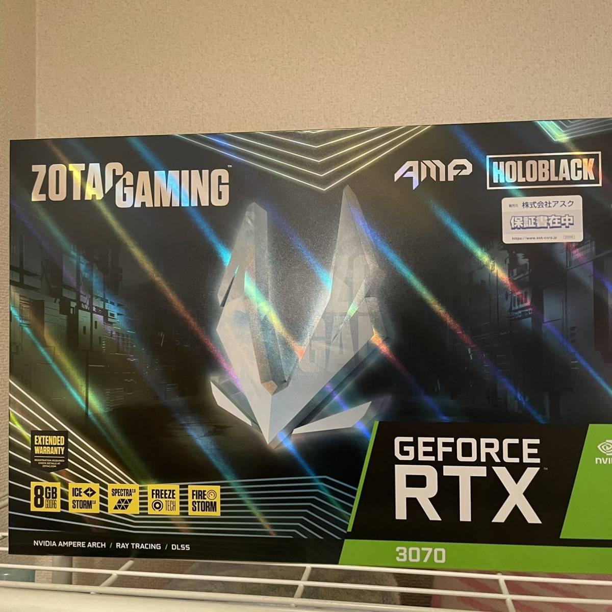 ZOTAC GAMING GeForce RTX 3070 AMP Holo ZT-A30700F-10P [PCIExp 8GB]_画像1