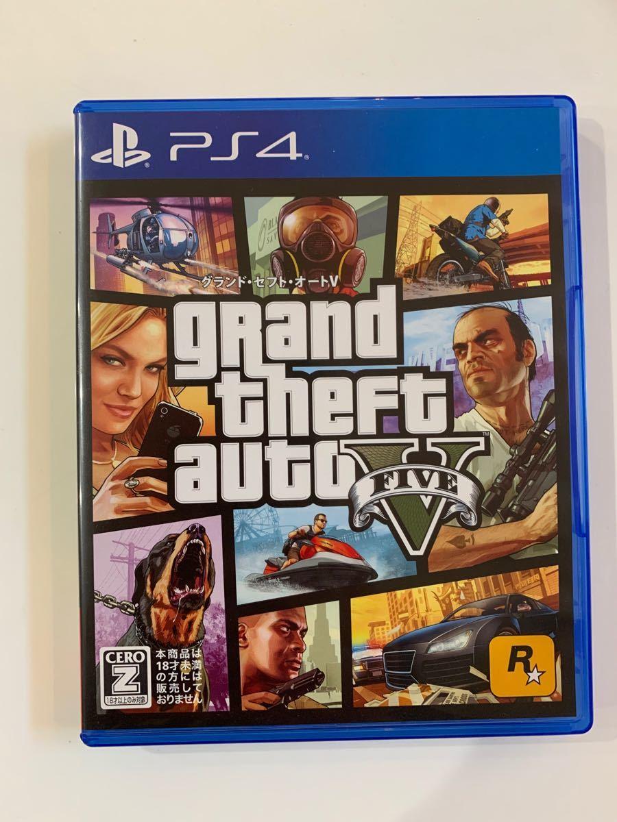PS4ソフト グランドセフトオート5