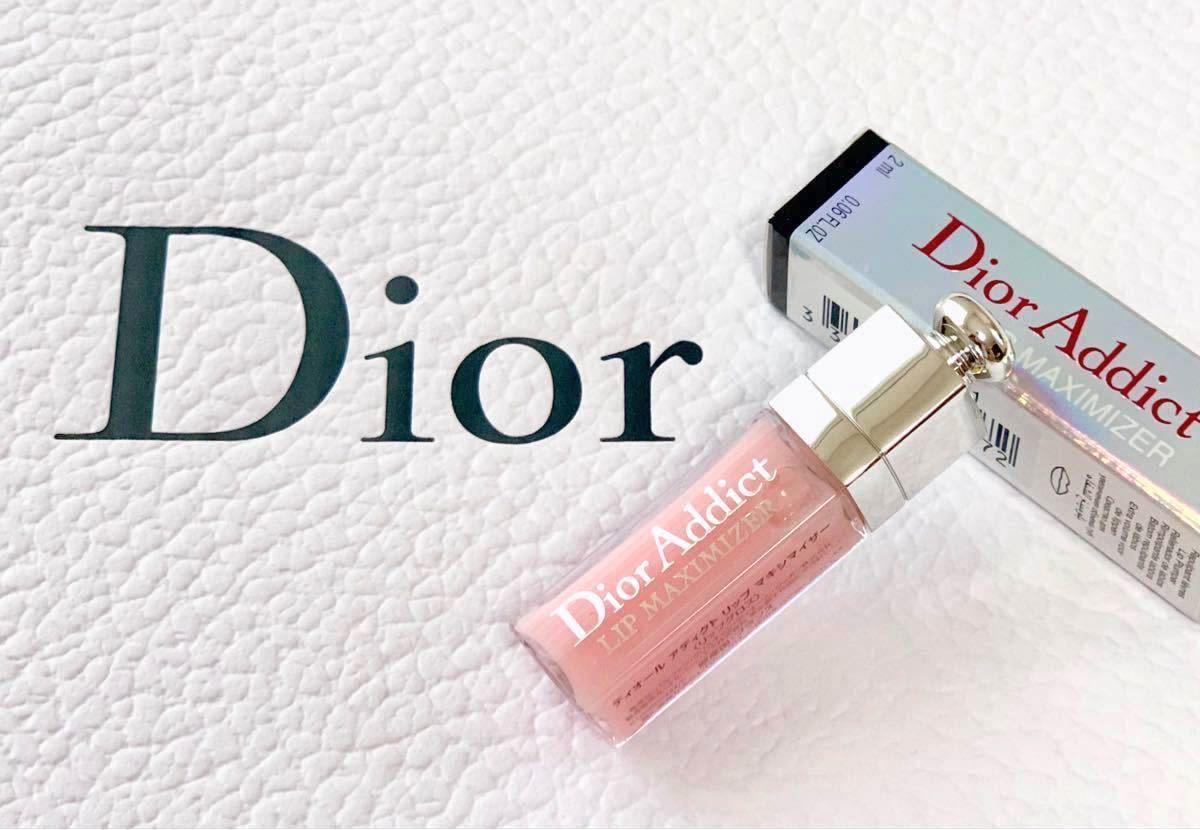 【Dior】ディオール アディクト リップ マキシマイザー 001  2ml ミニチュア