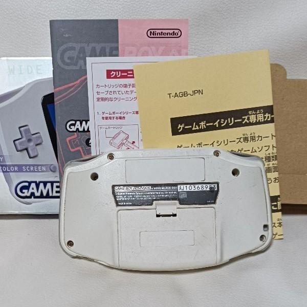 ゲームボーイアドバンス中古作動確認済みソフト3本付き。