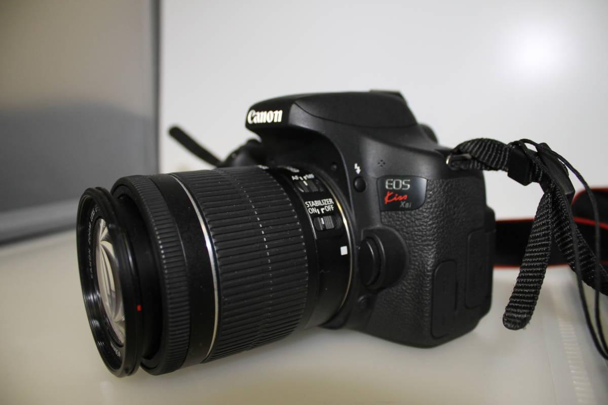 Canon キヤノン EOS kiss X8I レンズセット