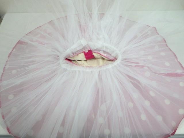 d34/衣類■バレエ衣装 ミニーマウス衣装 可愛いドッド柄 ミッキーマウスマーチ オペラ・チュチュスカート??■①_画像5