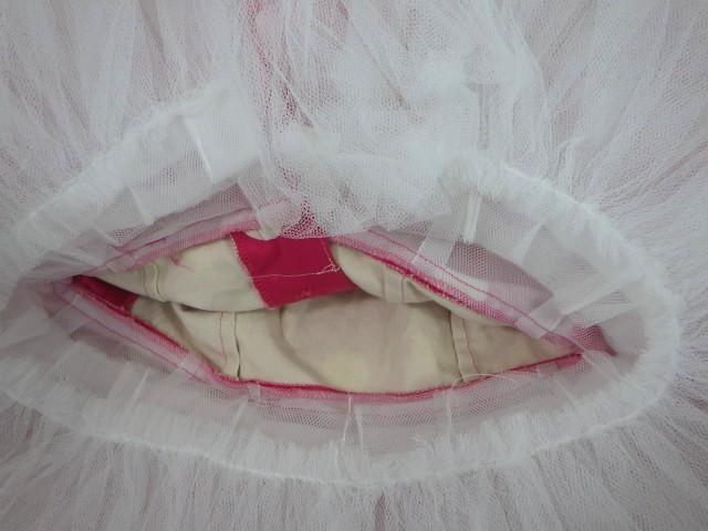 d34/衣類■バレエ衣装 ミニーマウス衣装 可愛いドッド柄 ミッキーマウスマーチ オペラ・チュチュスカート??■①_画像6