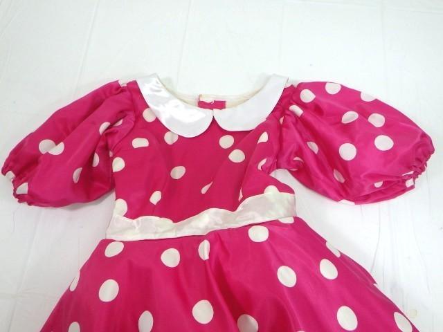 d34/衣類■バレエ衣装 ミニーマウス衣装 可愛いドッド柄 ミッキーマウスマーチ オペラ・チュチュスカート??■①_画像2