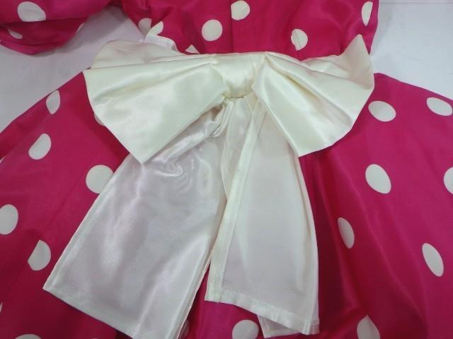 d34/衣類■バレエ衣装 ミニーマウス衣装 可愛いドッド柄 ミッキーマウスマーチ オペラ・チュチュスカート??■①_画像4
