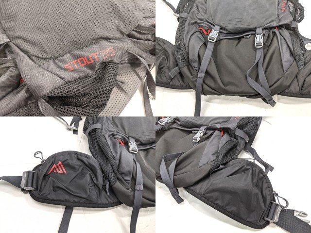 X01 登山 トレッキング用品 バックパック ザック グレゴリー GREGORY スタウト35 STOUT35_画像4