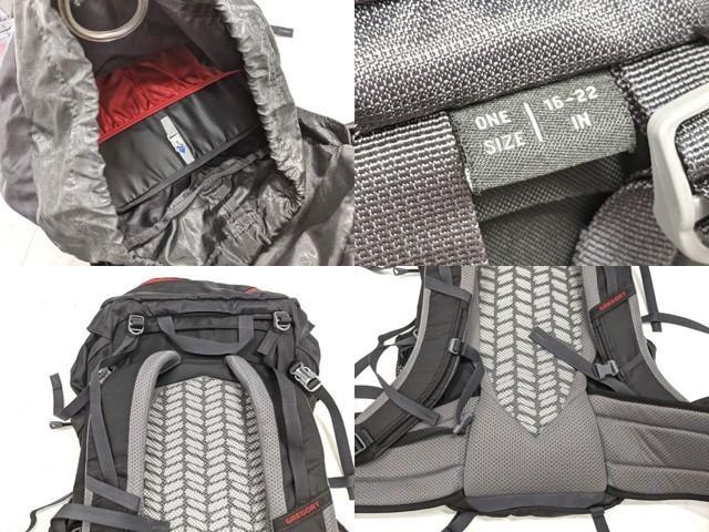 X01 登山 トレッキング用品 バックパック ザック グレゴリー GREGORY スタウト35 STOUT35_画像5