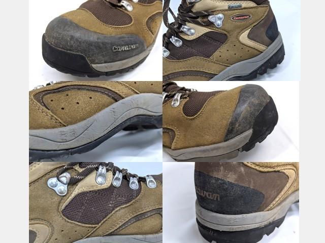 X40 登山靴 トレッキングシューズ Caravan キャラバン ブラウン サイズ:27.5cm EEE_画像4