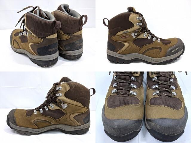 X40 登山靴 トレッキングシューズ Caravan キャラバン ブラウン サイズ:27.5cm EEE_画像2