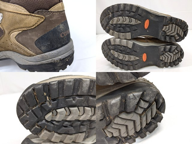 X40 登山靴 トレッキングシューズ Caravan キャラバン ブラウン サイズ:27.5cm EEE_画像6