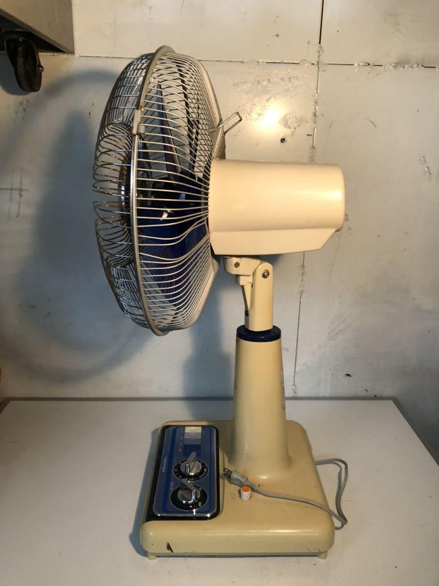 TOSHIBA 東芝 F-320N5 昭和レトロ レトロ扇風機 当時物 貴重 アンティーク 動作確認済み 現状販売 U-589_画像3