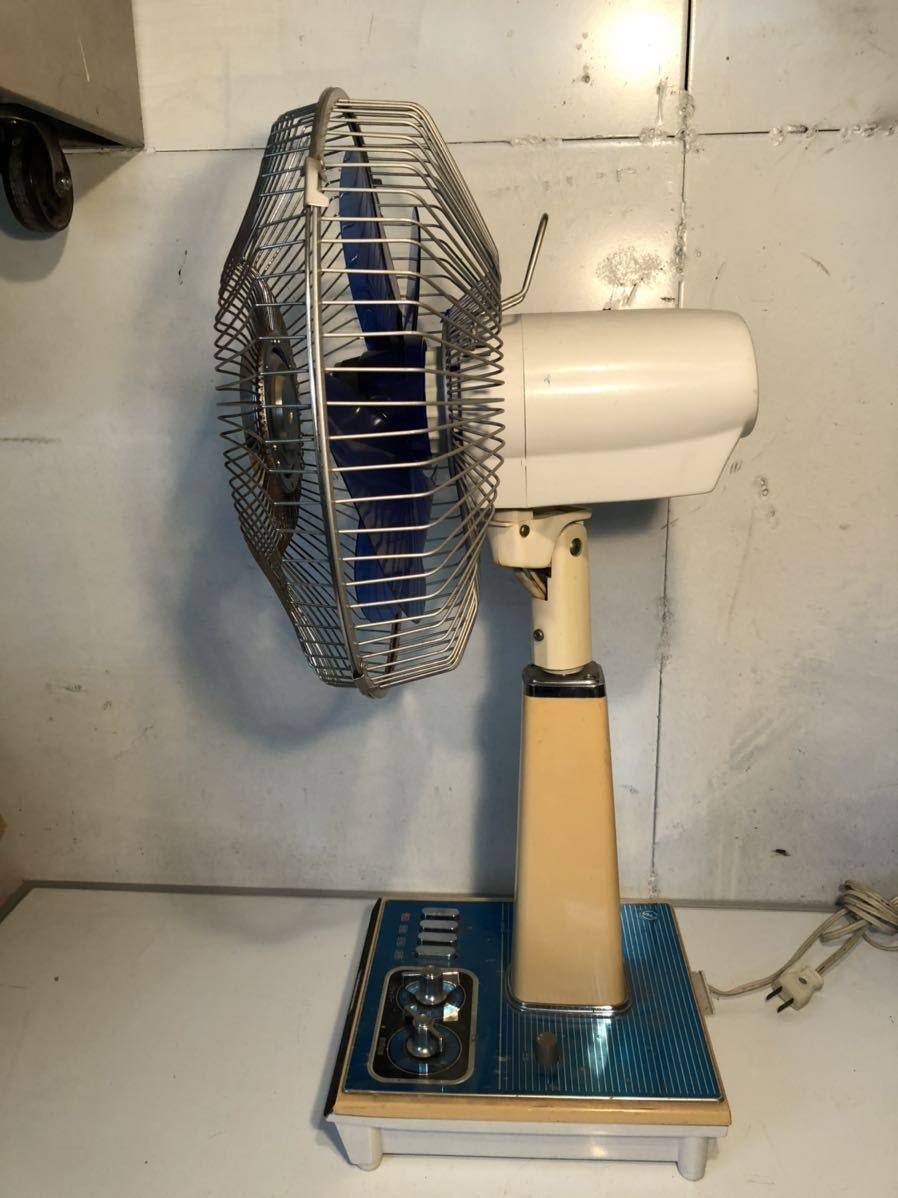 東芝 TOSHIBA H-30AU 昭和レトロ レトロ扇風機 当時物 貴重 アンティーク 動作確認済み 現状販売 U-602_画像2