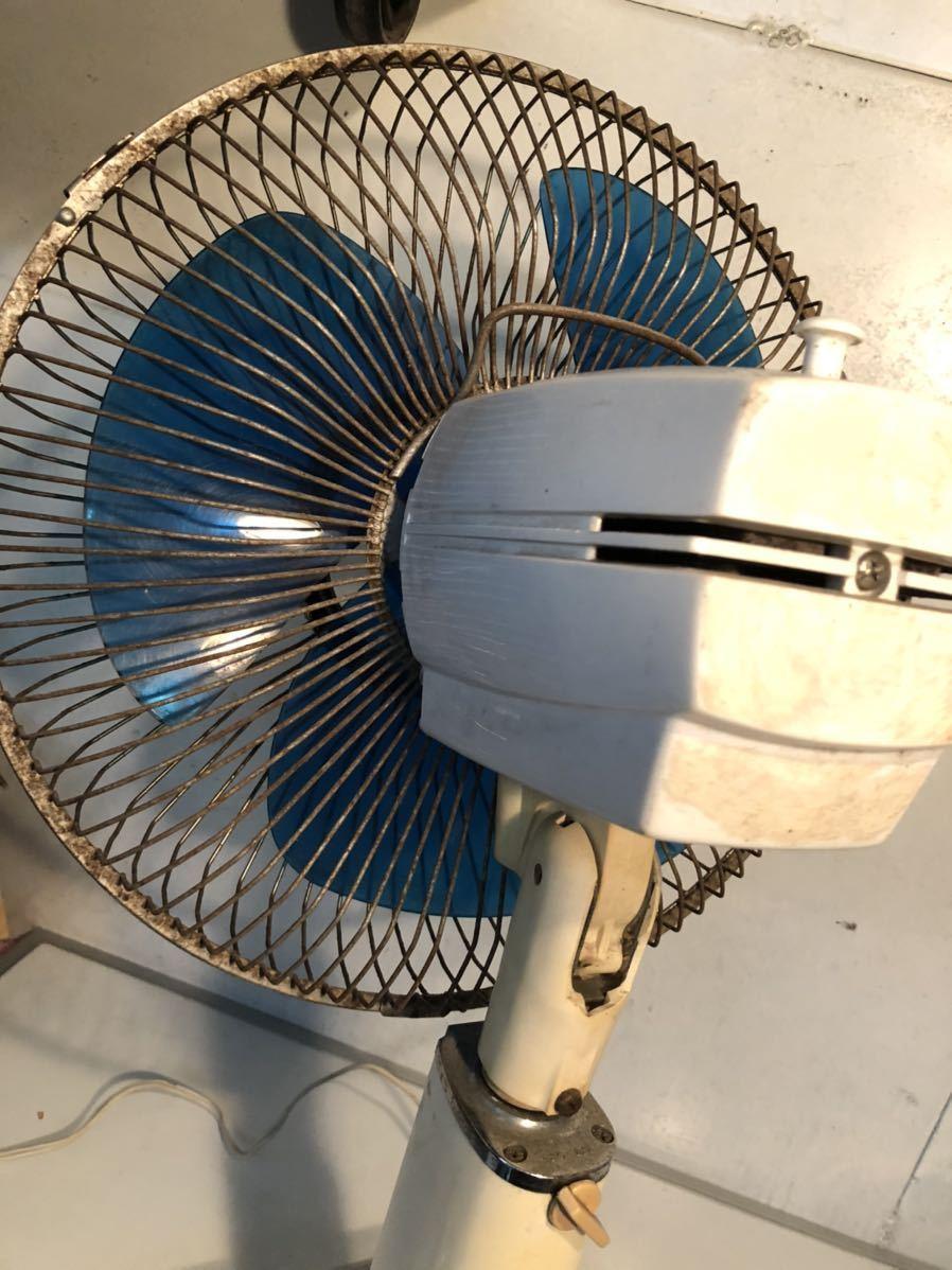 日立 HITACHI H-638型 OS12 さわ風 昭和レトロ レトロ扇風機 当時物 貴重 アンティーク 動作確認済み 現状販売 U-594_画像5