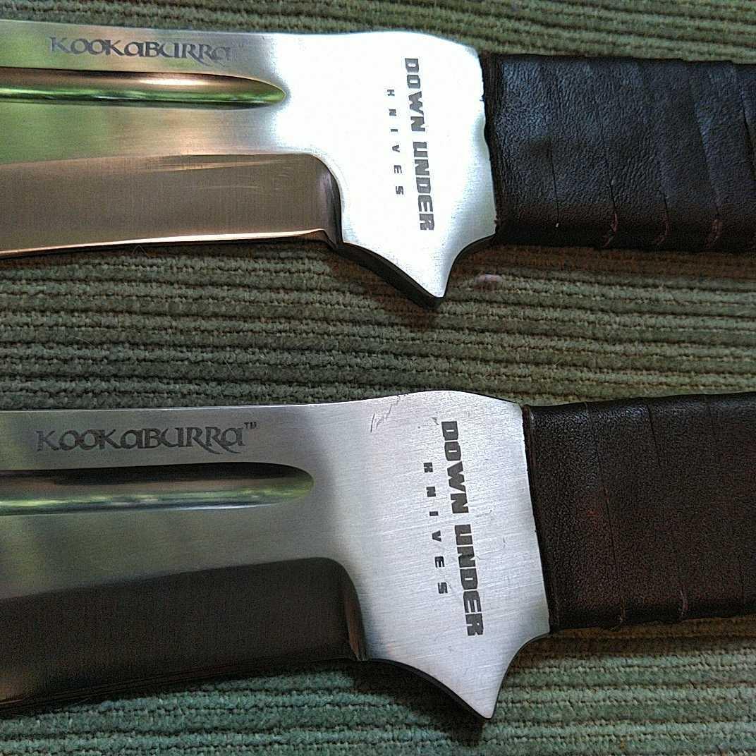 ドーンアンダー シースナイフ 2丁セット アウトドア キャンプ ハンティング バトニング ブッシュクラフト