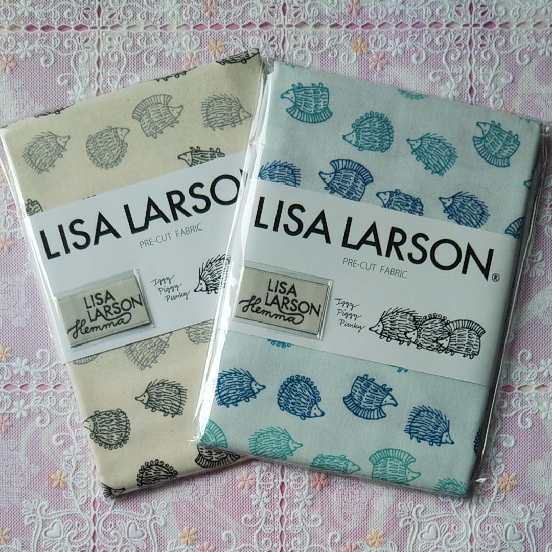 リサラーソン LISA LARSON生地ハリネズミA