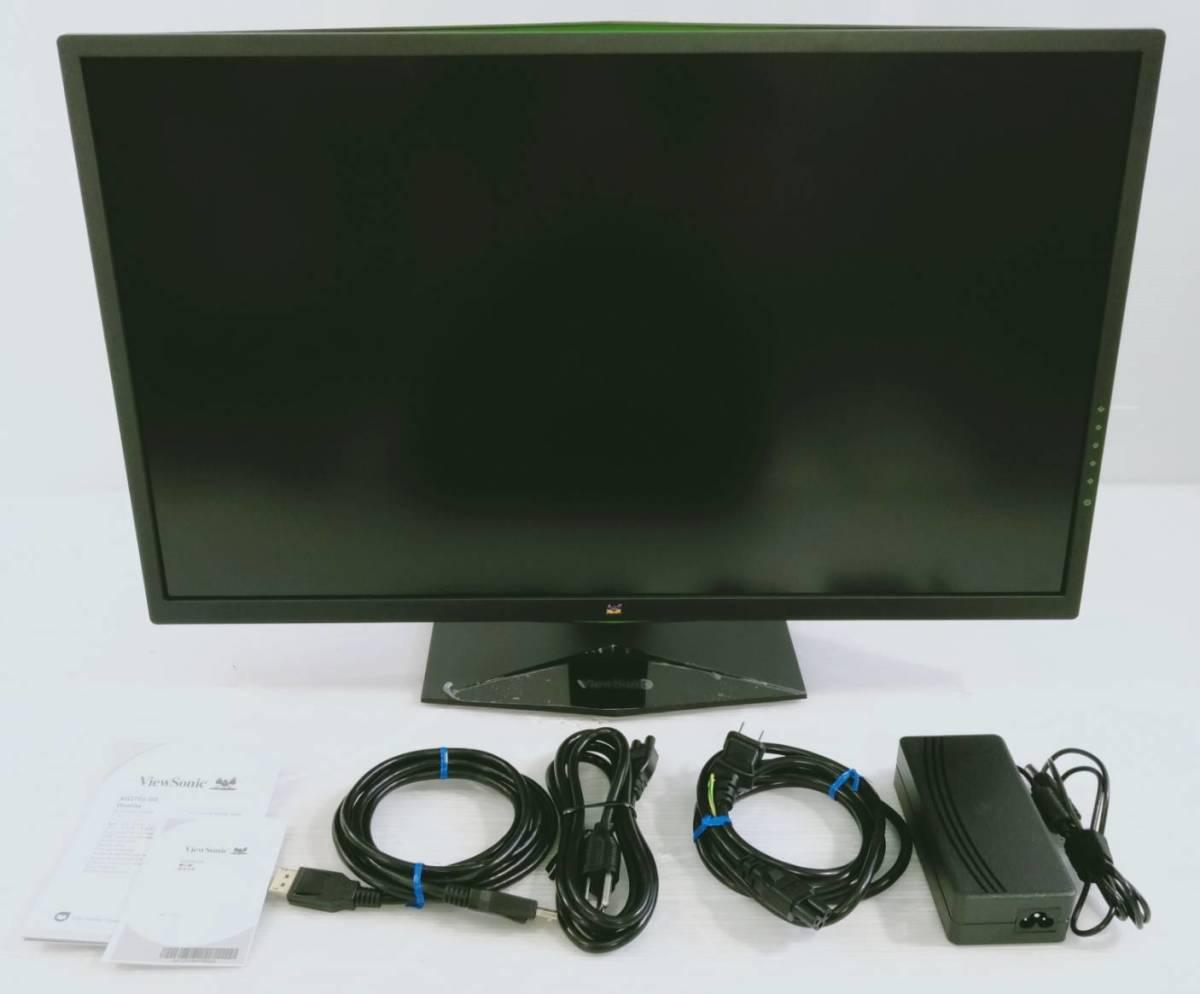 【美品】Viewsonic27インチ165Hzゲーミングモニター/WQHD2560×1440/NVIDIA G-Sync/XG2703-GS_画像1