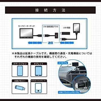新品エーモン AODEA(オーディア) USB接続通信パネル トヨタ車用 (2311)40DX_画像3