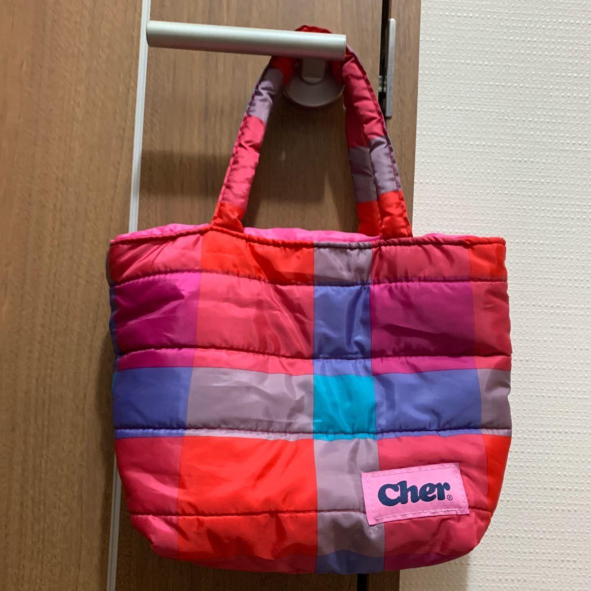 Cher ランチトート ミニバッグ トートバッグ