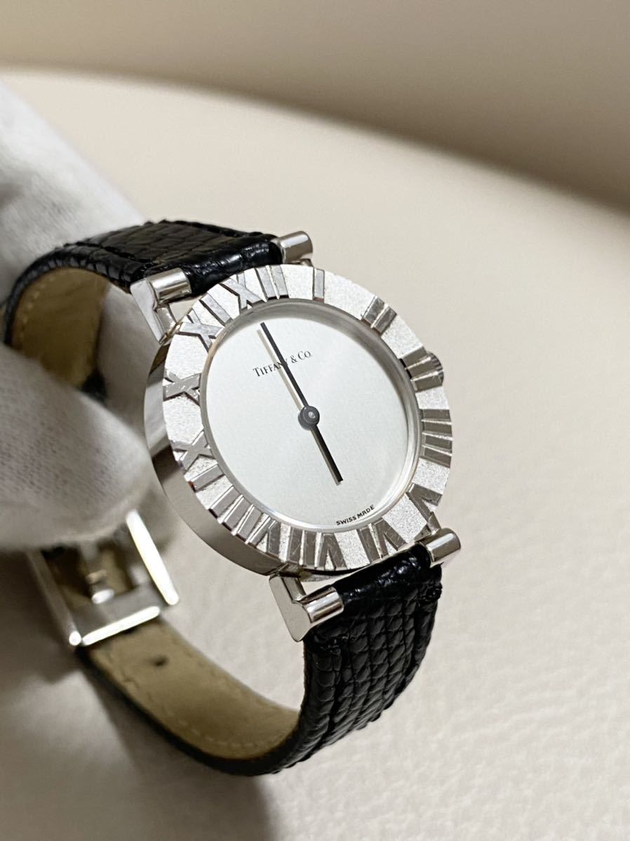 ティファニー アトラス 腕時計 SV925 レディース クォーツ E86/164