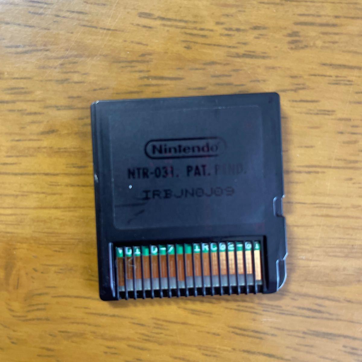 ポケットモンスターブラック DSソフト NINTENDO DS