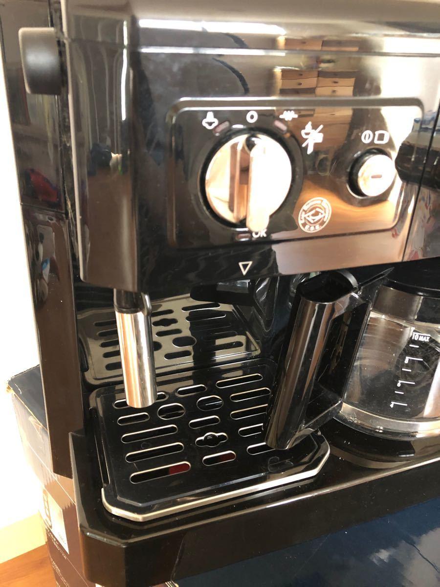 デロンギ DeLonghi コーヒーメーカー ドリップコーヒー BCO410J-B コンビコーヒーメーカー