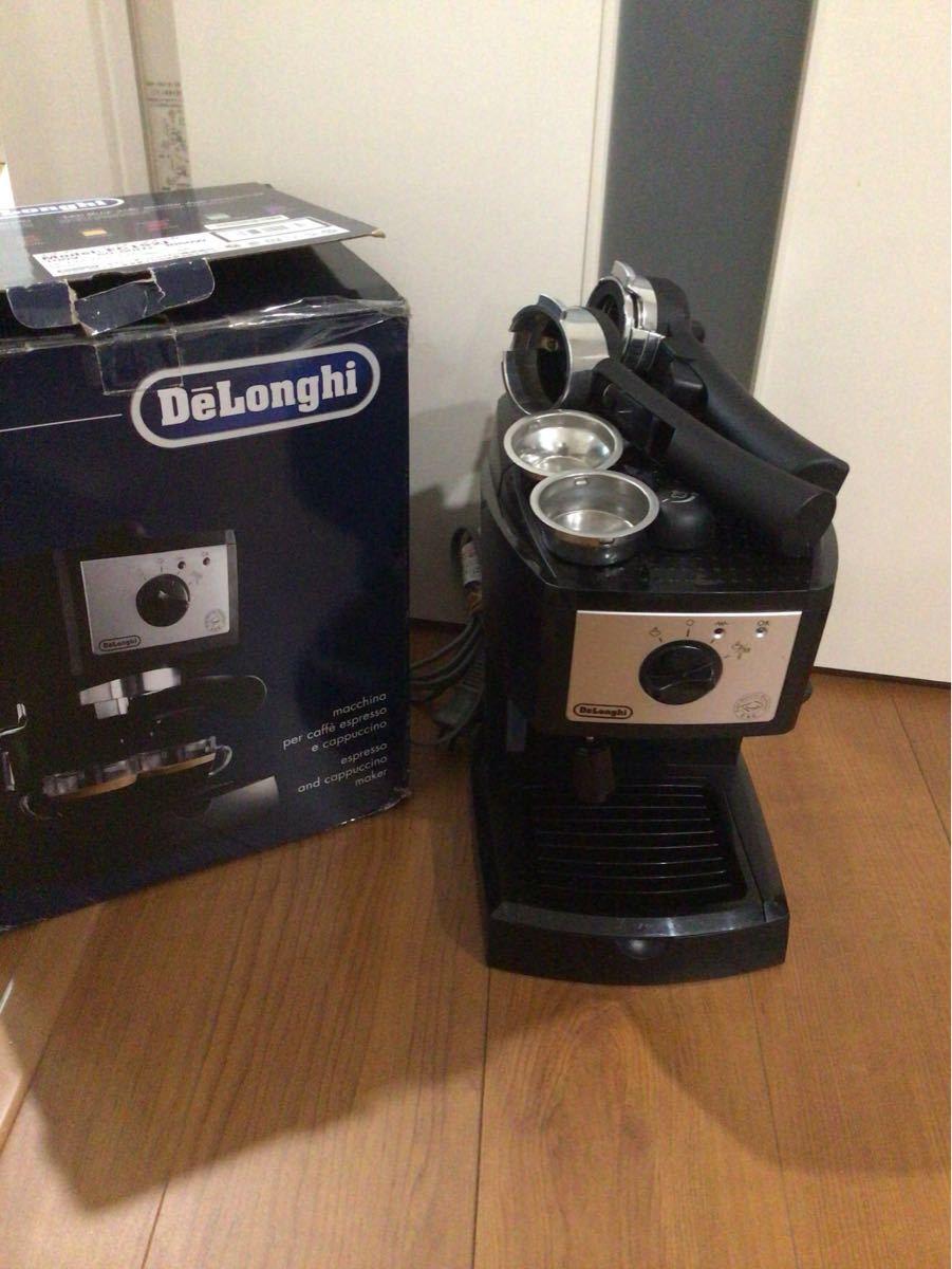 デロンギ DeLonghi カプチーノ エスプレッソ コーヒーメーカー EC152J