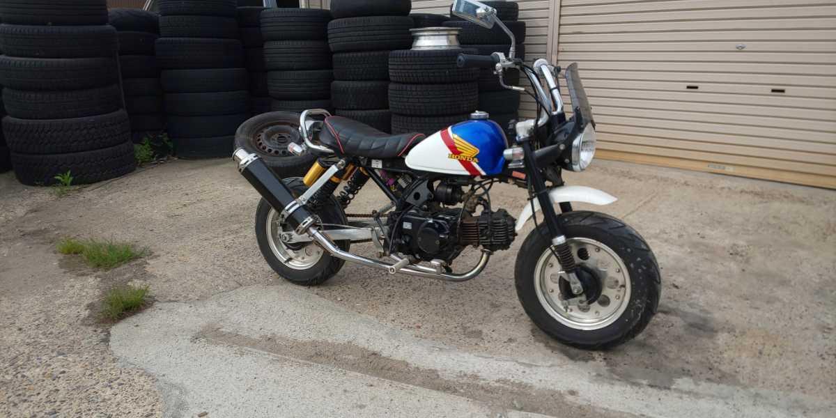 「モンキー カスタム Z50J4 AB27 2003?」の画像1