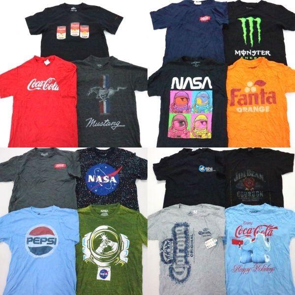 ◎企業系プリント 半袖Tシャツ set ペプシ NASA コロナビール 他 (S/M) 15枚 まとめ USA古着卸 1円スタート 最落なし MC9199_画像1