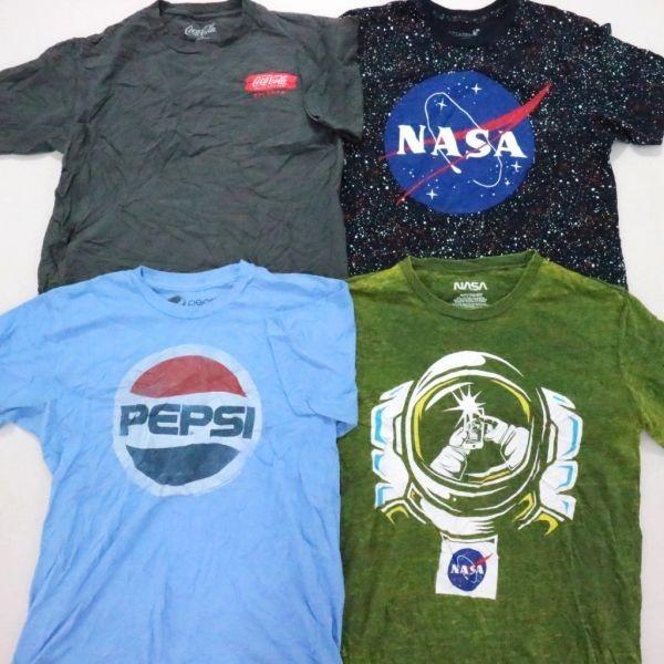 ◎企業系プリント 半袖Tシャツ set ペプシ NASA コロナビール 他 (S/M) 15枚 まとめ USA古着卸 1円スタート 最落なし MC9199_画像2