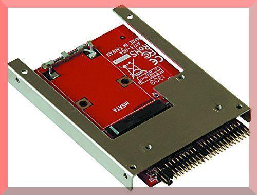 ■☆◆玄人志向 セレクトシリーズ mSATA SSD IDE変換アダプター KRHK-MSATA/I9_画像1