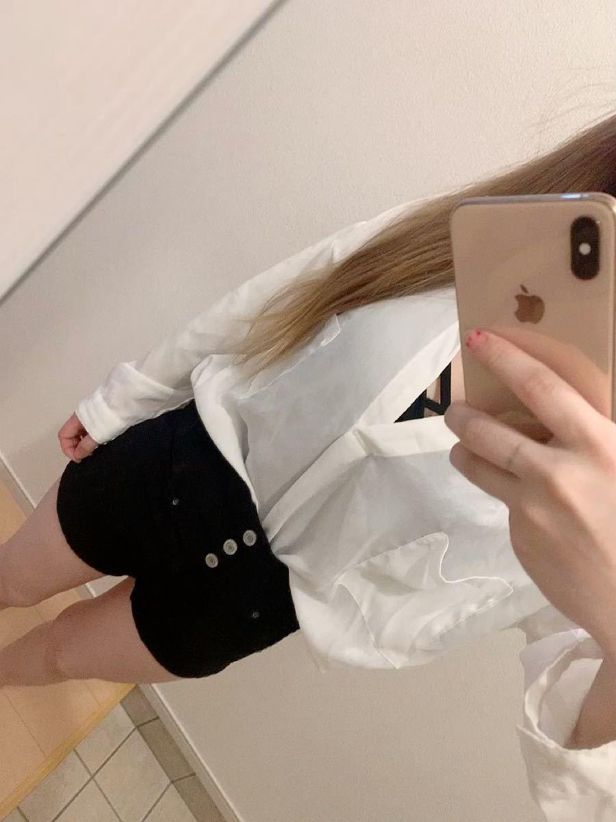 白シャツ ブラウストップス