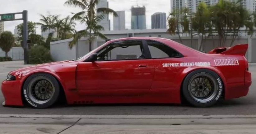 【M's】日産 R33 スカイライン GT-R (1995y-1998y) PANDEM サイドスカート LR / パンデム FRP 未塗装 エアロ パーツ GTR サイドステップ_画像7