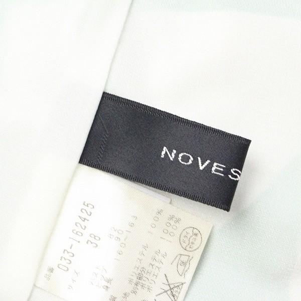 美品◆NOVESPAZIO/ノーベスパジオ 総柄 ワンピース グリーン 38_画像4