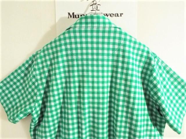★美品★Munsingwear マンシングウェア / サイズ3L / ギンガムチェック プルオーバーシャツ 吸水速乾 _画像3