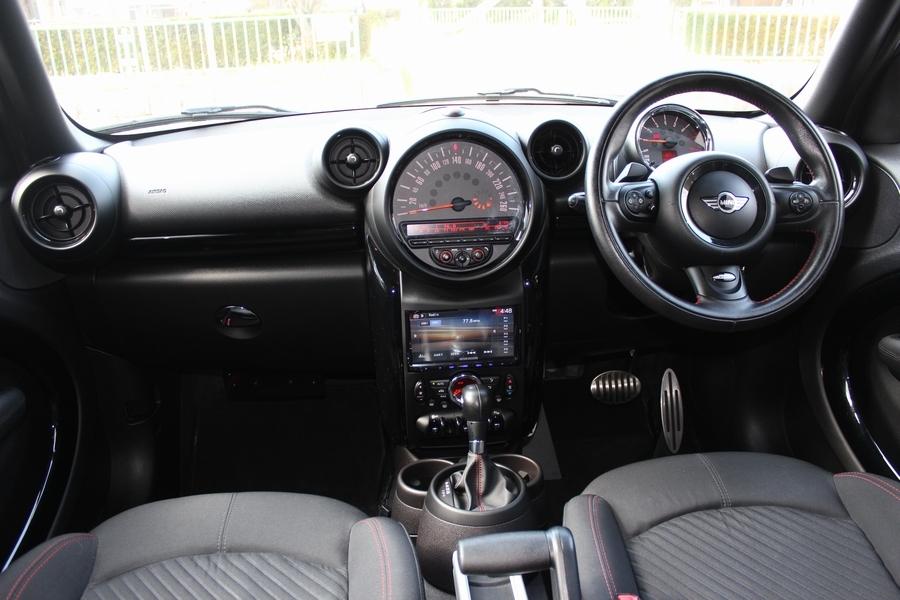 「【極美車・JCW専用装備】R60/BMW MINI ジョンクーパーワークス クロスオーバー オール4/ディスプレイオーディオ/Bカメラ/Bluetooth」の画像3
