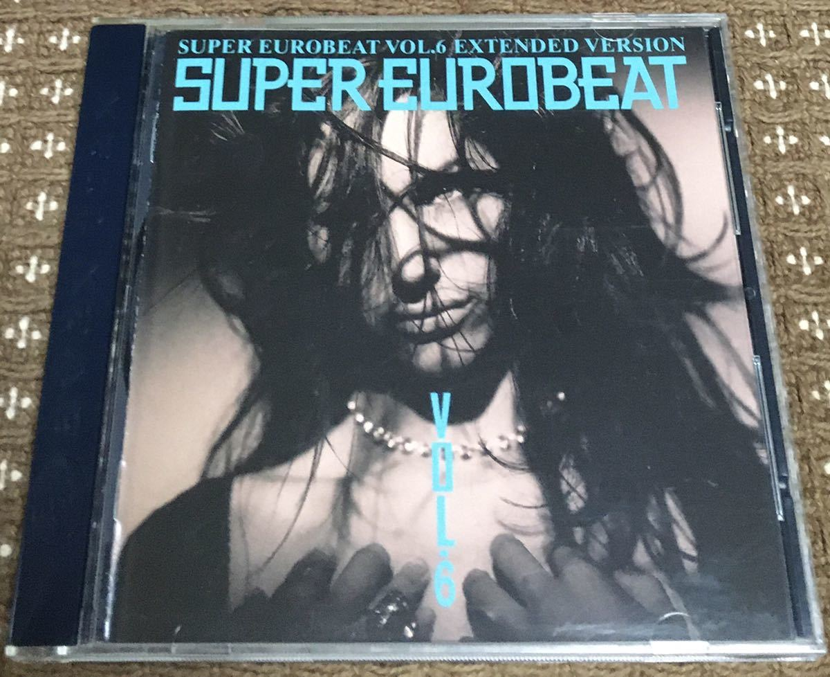 [CD] SUPER EUROBEAT VOL.6 EXTENDED VERSION スーパーユーロビート 【中古】