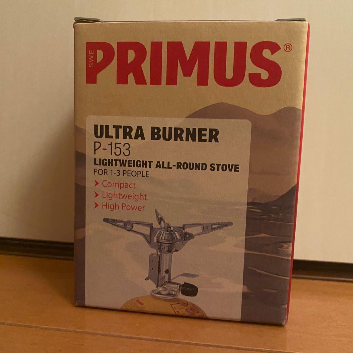 プリムス 153 ウルトラバーナー P153 PRIMUS Iwatani シングルバーナー ガスバーナー