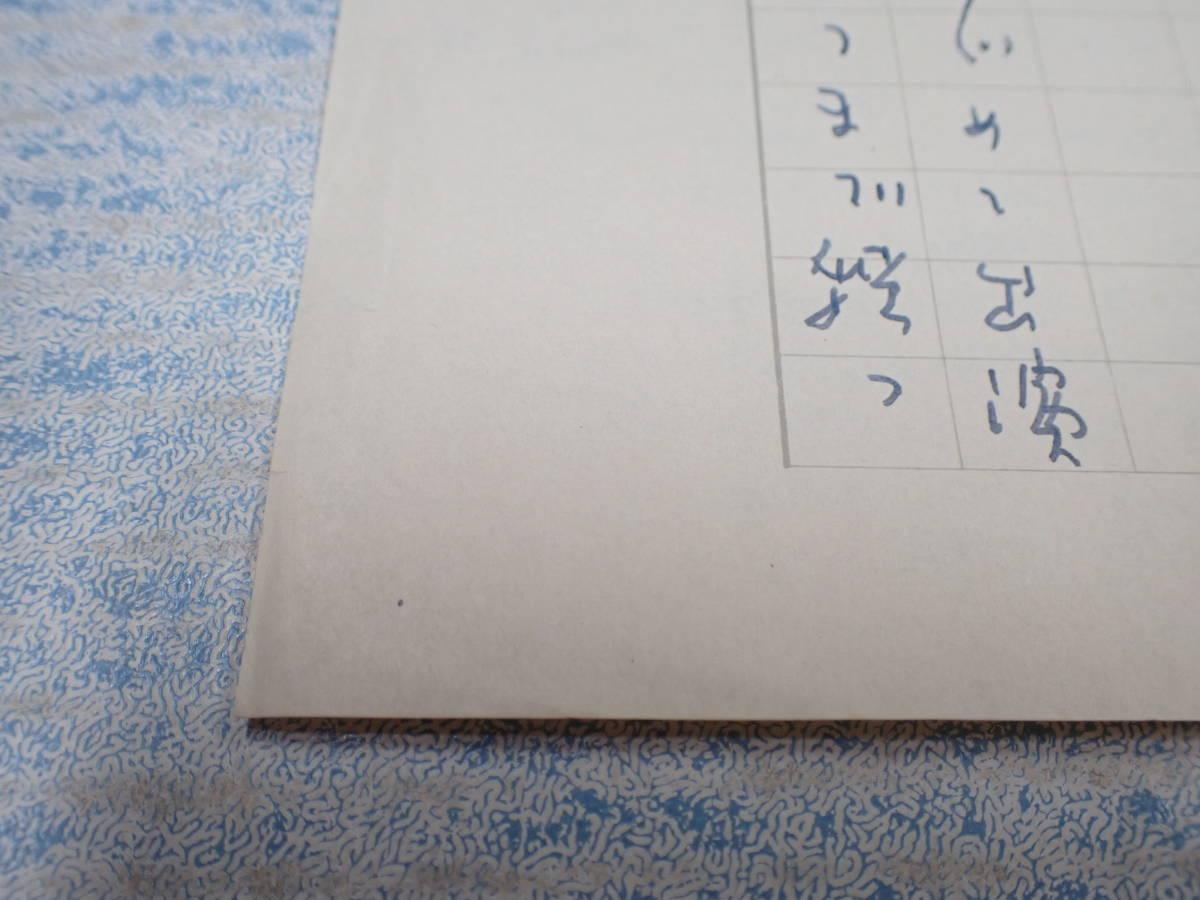 菊田一夫 原稿 『静かなる男』の楽しさ/エッセイ・原稿用紙_画像3