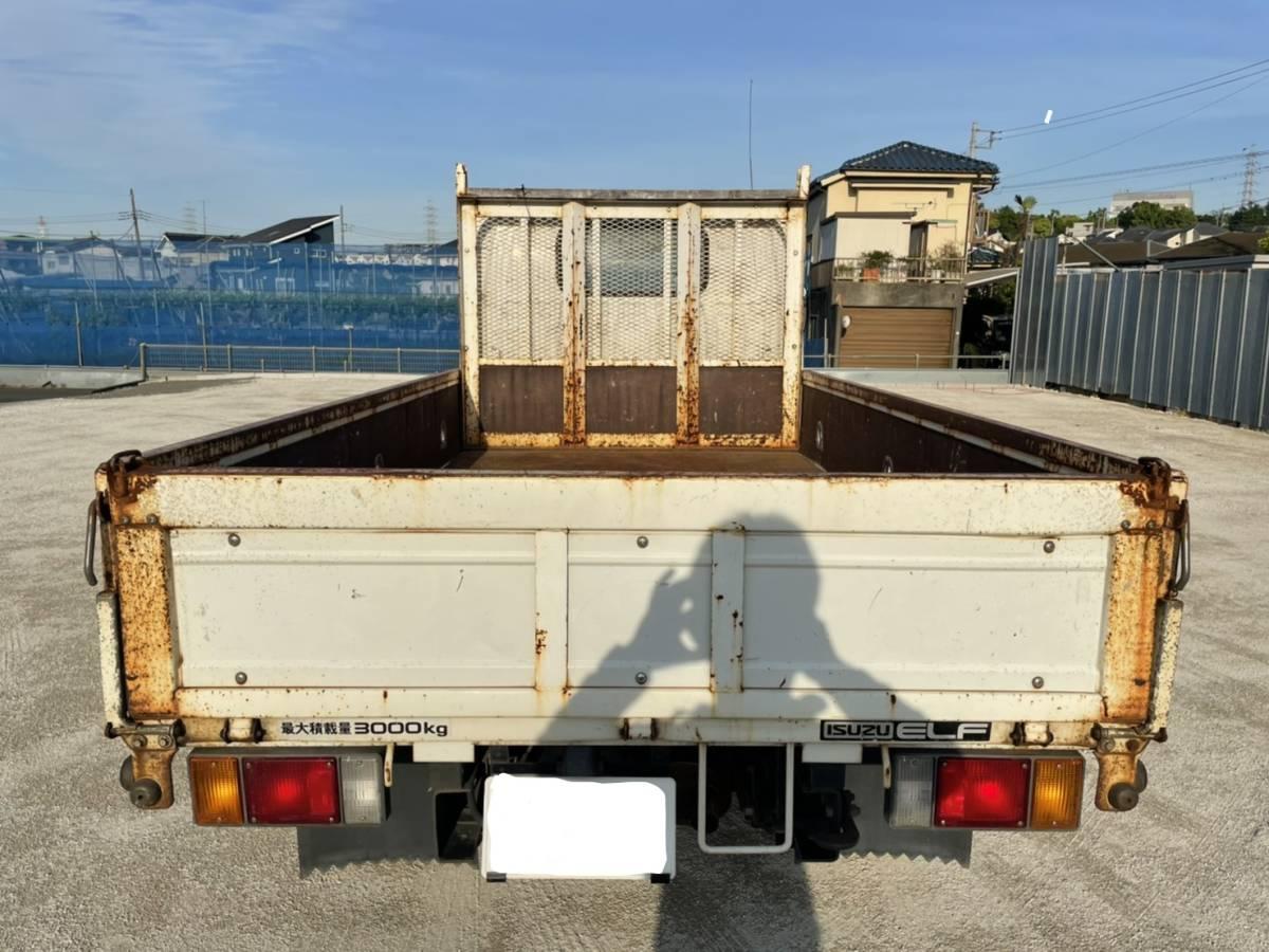 「売り切り!!いすゞ エルフ 平ボディ H17年 トラック ELF ディーゼル 機関良好 最落なし 売切」の画像3